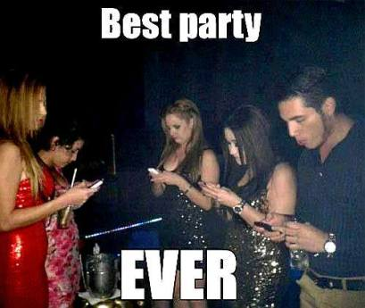 Cellphone-Party